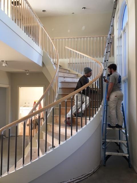 Spiral Staircase Prep