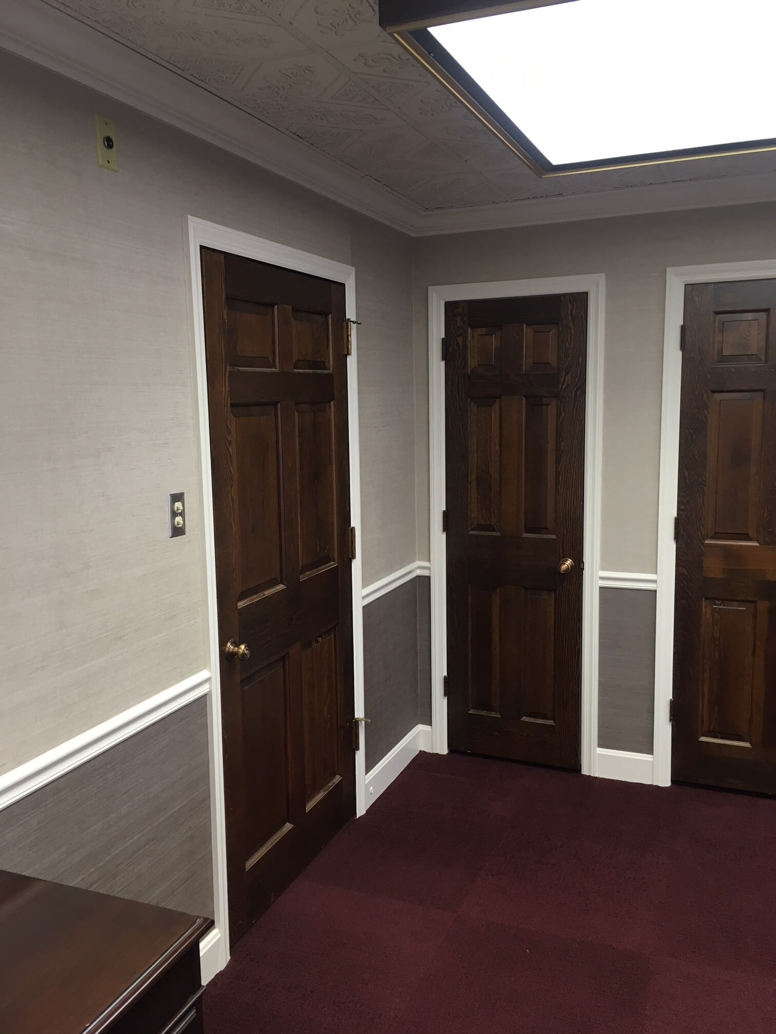 Rich Stained Doors